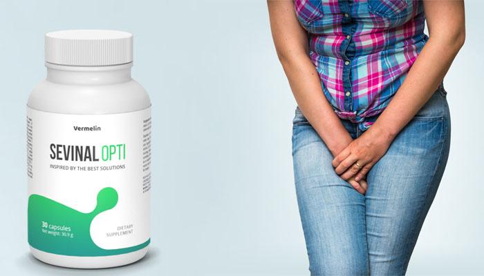 Sevinal opti - problemi urinarne inkontinencije – instrukcije – ebay – sastav