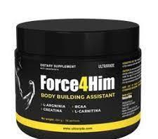 Ultrarade Force4him - za mišićnu masu - test - gel - tablete